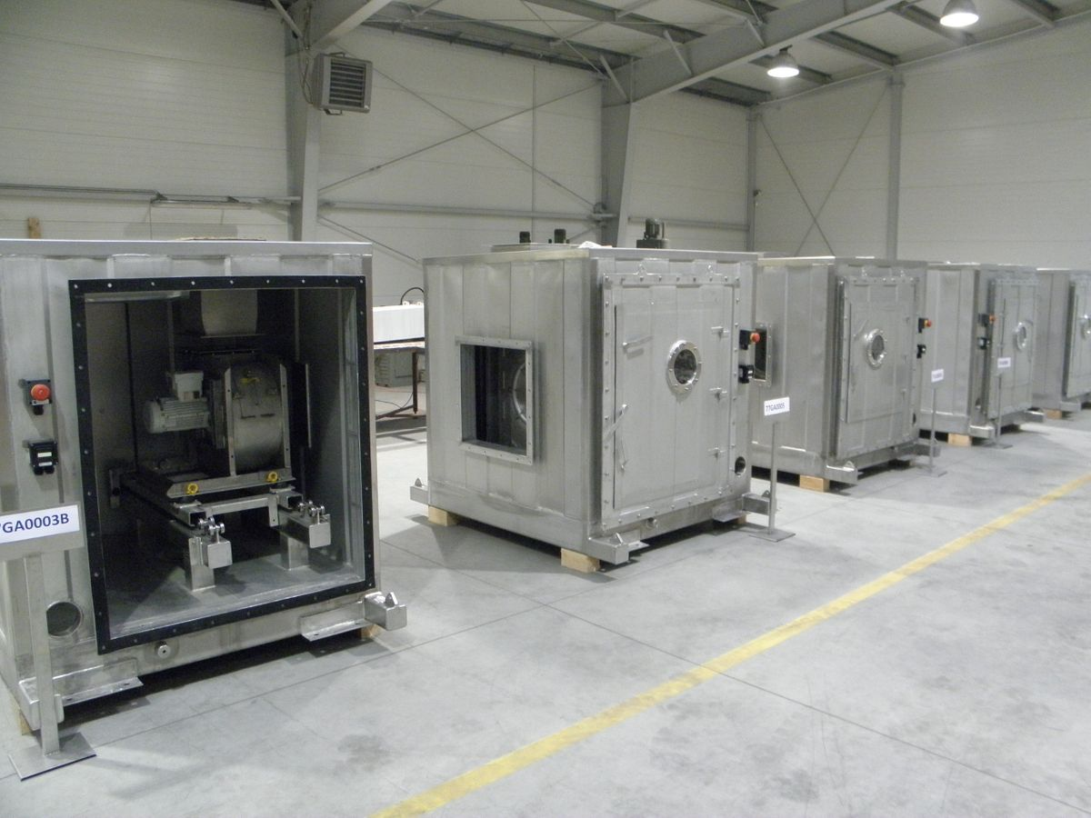 Air handling Unit for the Ivar Aasen Platform - ATEX certified