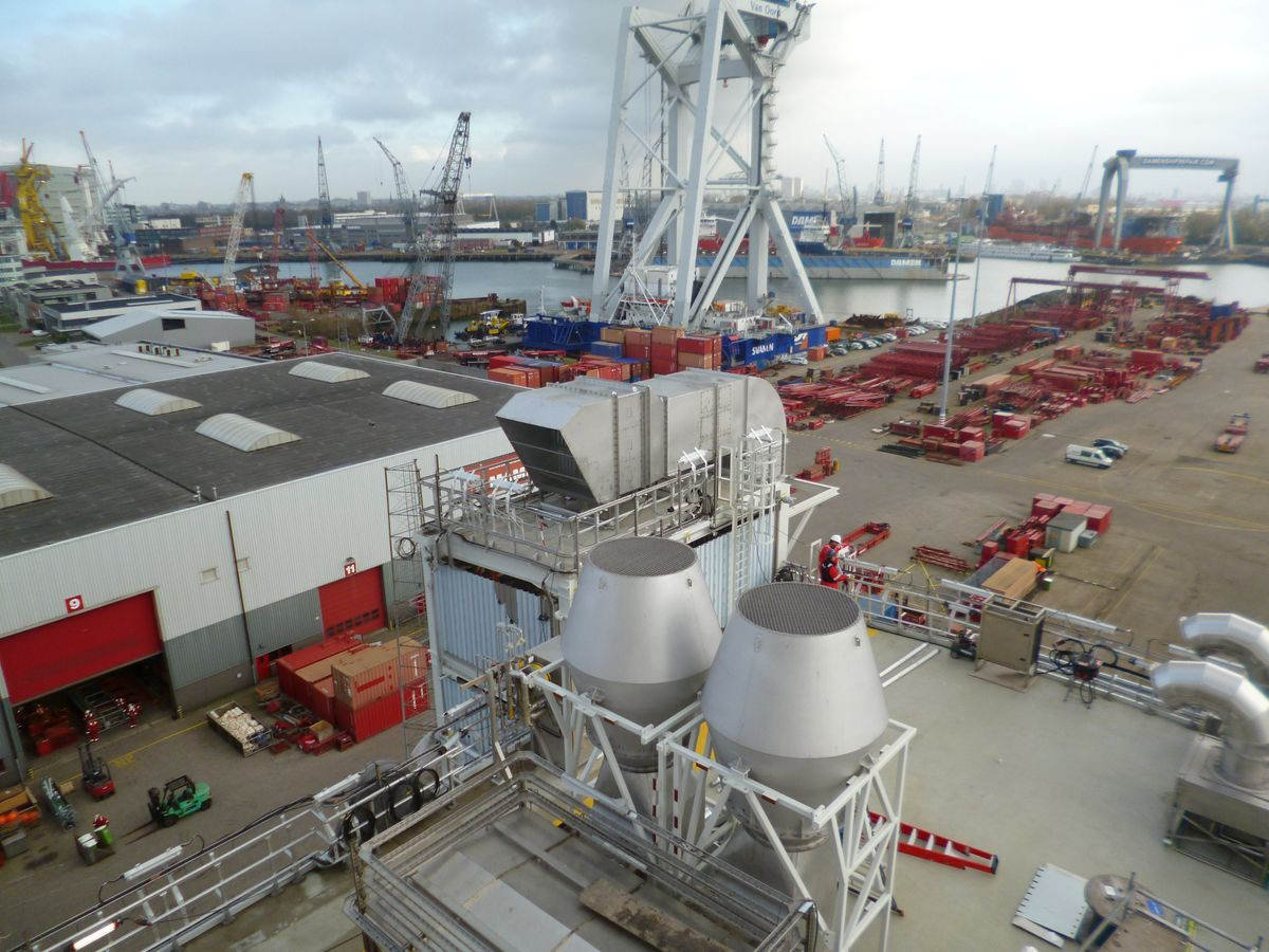 Jet Hoods installed on Aasta Hansteen LQ