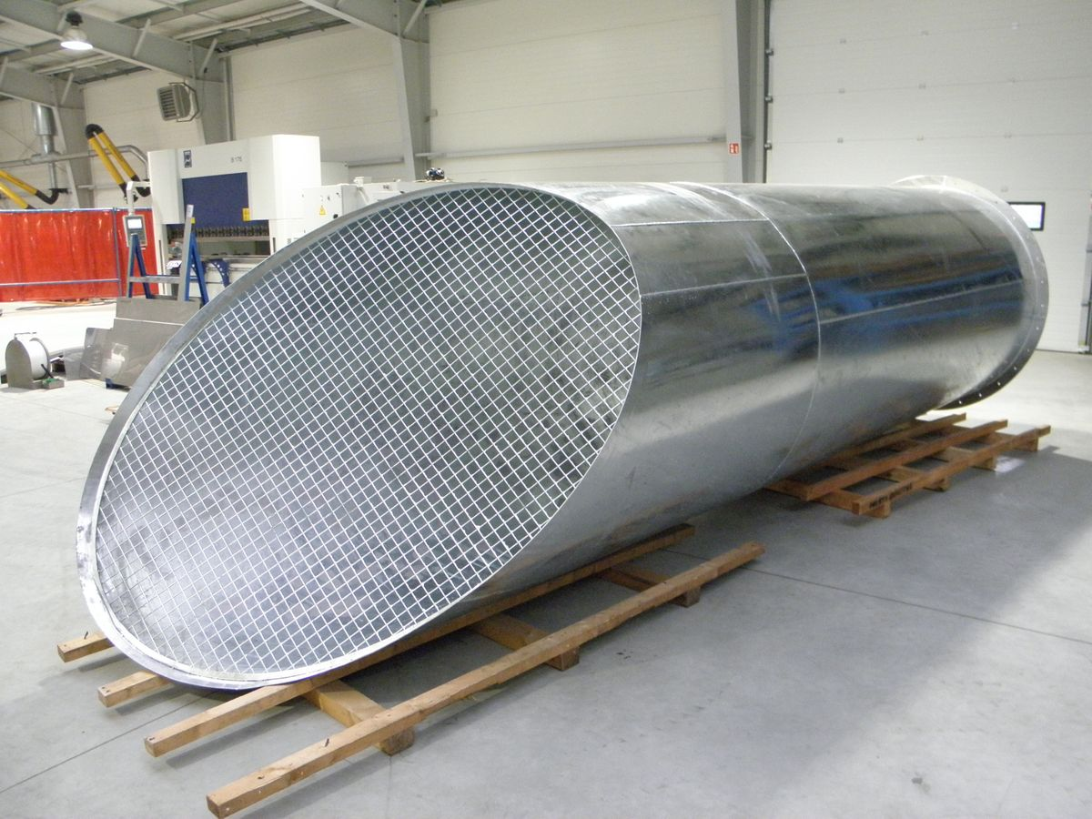 Intake - Hot Dip Galvanized